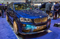 83rd Geneva Motorshow 2013 - BMW Alpina Stock Photography