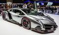 83rd Geneva Motorshow 2013 - Lamborghini Veneno Royalty Free Stock Photo
