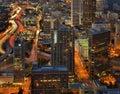85 Atlanta międzystanowy Obraz Royalty Free