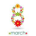 8th March Women's day Royalty Free Stock Image