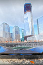 9/11 memorial fountains Stock Photos