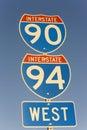 90 94跨境符号 库存图片