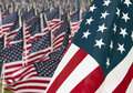 911 Day United States Memorial Day Flags Royalty Free Stock Photo