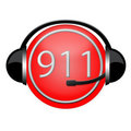 911 department extinguisher headphone sign Royalty Free Stock Images