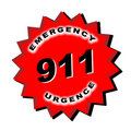 911 Sign Stock Photography