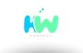AAAAA alphabet letter blue green logo icon design