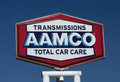Aamco transmissions repair facility pasadena ca usa june sign is an american transmission franchise Royalty Free Stock Image