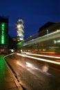 Aarhus by night Royalty Free Stock Photo