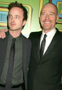 Aaron Paul,Bryan Cranston Royalty Free Stock Photography