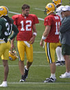 Aaron Rodgers, Green Bay Packers NFL Quarterback Royalty Free Stock Photo