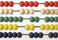 Abacus beads Royalty Free Stock Image