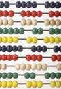 Abacus beads Stock Photos