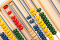 Abacus and books Royalty Free Stock Images
