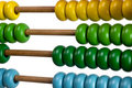 Abacus for kids Stock Images