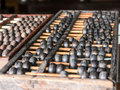 Abacus old chinese style of Stock Photos
