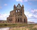 Abadia de Whitby Foto de Stock