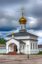 Abalak monastery honor icon mother god sign tobolsk diocese russia siberia asia chapel Stock Photography