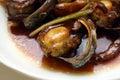 Abalone Dish Royalty Free Stock Photo