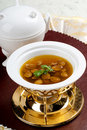 Abalone Soup Royalty Free Stock Photography