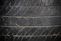 Abandon car tire texture textured pattern of Stock Photos