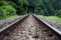 Abandon railway track Royalty Free Stock Photos