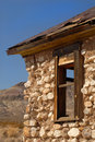 Abandoned building in Ghost Town located in Death Valley Califor Stock Photos
