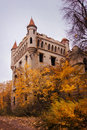 Abandoned castle estate Royalty Free Stock Images