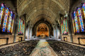 Abandoned Catholic church Royalty Free Stock Photo