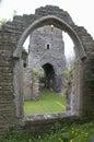 Abandoned church in South Huish, Devon
