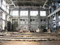 Abandoned Factory - Floor to Celling Royalty Free Stock Images