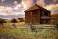 Abandoned Farmstead on Last Dollar Road Near Ouray Colorado