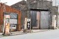 Abandoned fuel station Royalty Free Stock Photo