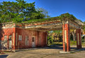 Abandoned gas station beeville texas photographed in Royalty Free Stock Photos
