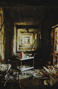 Abandoned hospital in Pripyat.
