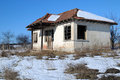 Abandoned House in Bulgaria Royalty Free Stock Photos
