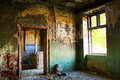 Abandoned house detail Royalty Free Stock Photo