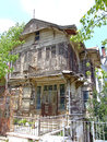 Abandoned house at prince islands near istanbul Stock Photo