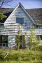 Abandoned house in rural prince edward island canada Royalty Free Stock Images