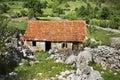 Abandoned house in studenci bosnia and herzegovina Royalty Free Stock Photo