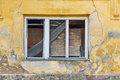 Abandoned house window Royalty Free Stock Photography