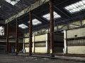 Abandoned industry Royalty Free Stock Photo