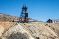 Abandoned Nevada mine Royalty Free Stock Photo