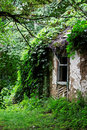 Abandoned peasants house Royalty Free Stock Photo