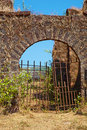 Abandoned Portuguese fort. Royalty Free Stock Photo