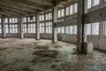 Abandoned production premise