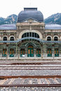 Abandoned railway station of canfranc huesca spain Stock Photography