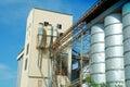 Abandoned Rice Mill Royalty Free Stock Photo