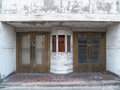 Abandoned theater front an in southwest virginia Stock Images