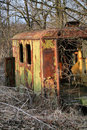 Abandoned trailer Royalty Free Stock Photos