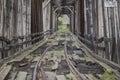 Abandoned Train Bridge Horizontal Royalty Free Stock Photo